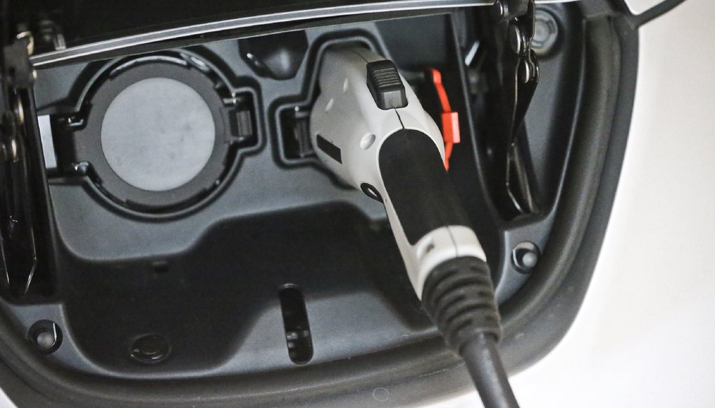 Would-be owners of vehicles that fuel up electrically face a $200 annual fee and loss of a $5,000 state tax credit under pending state legislation. Photo by Joh