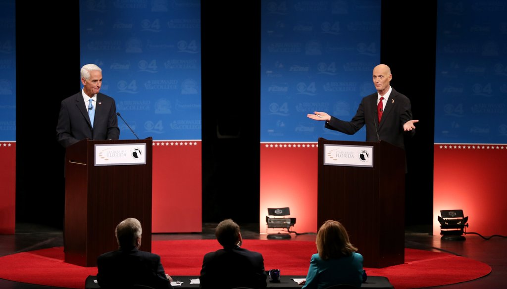 Republican candidates for president will debate Monday night in Tampa.