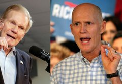 Nelson, Scott fact-checked each other in their first Florida Senate debate. We fact-checked them
