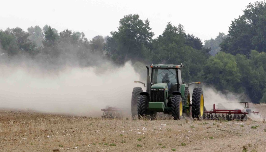 """Rep. Stephen Fincher is asking audiences to imagine a world where the EPA tries to enforce strict regulations on """"farm dust"""" in rural areas."""