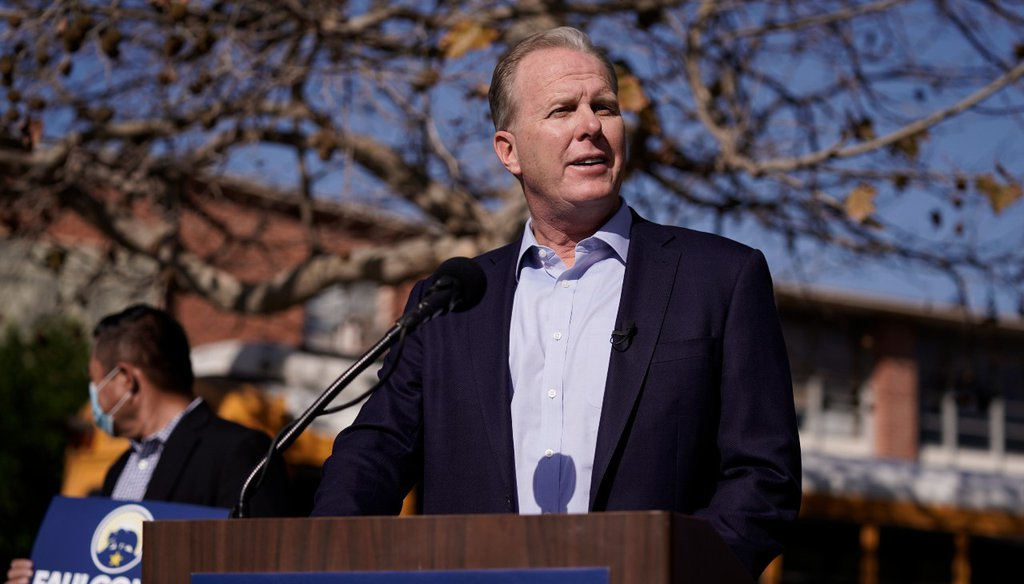 Republican gubernatorial candidate Kevin Faulconer released a plan in June to vastly expand homeless shelters in California as part of his efforts to get people off the streets. (AP Photo/Jae C. Hong, File photo)