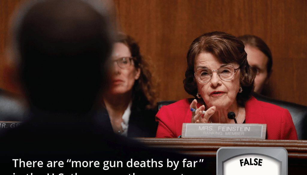 Sen. Dianne Feinstein, D-CA. at the Senate Judiciary Committee on Capitol Hill in Washington, June 11, 2019. (AP Photo/Pablo Martinez Monsivais)