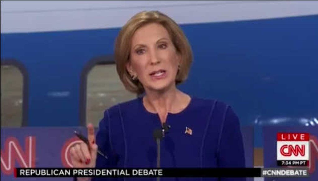 Former Hewlett Packard CEO Carly Fiorina said marijuana is more potent today than decades ago. (Screengrab)