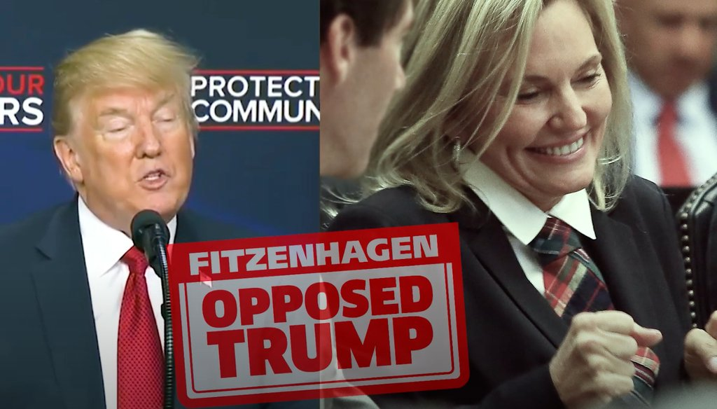 In a competitive Republican state senate primary, an ad inaccurately attacks state Rep. Heather Fitzenhagen's record on sanctuary cities.