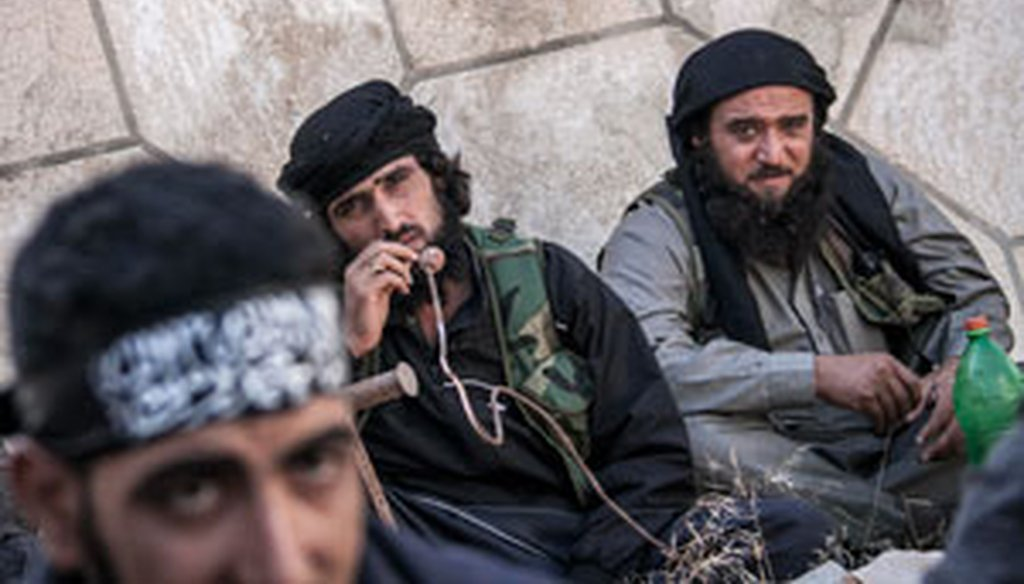 Fighters for the Free Syrian Army, a group backed by the West, aren't the only Syrian rebels battling Bashar Assad. (AP)