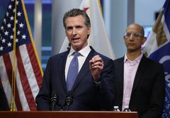 Gov. Newsom Leaves Out Key Context In Claim 56% Of Californians Will Get Infected With Coronavirus