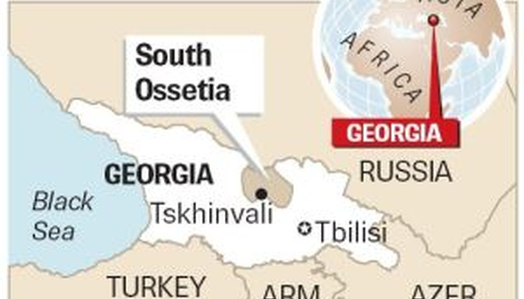 Russia and Georgia have had tense relations since the fall of the Soviet Union.