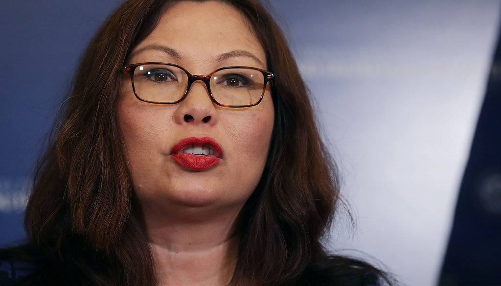 U.S. Senator Tammy Duckworth (Chip Somodevilla/Getty Images)