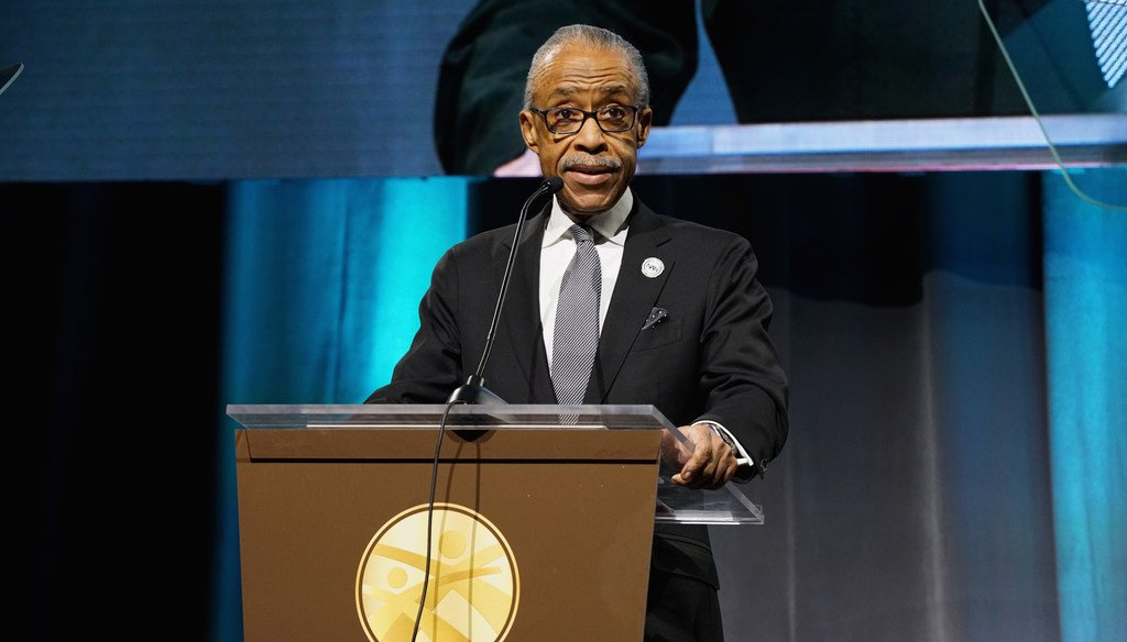 Was Al Sharpton a frequent visitor to the Obama White House? (Getty Images)