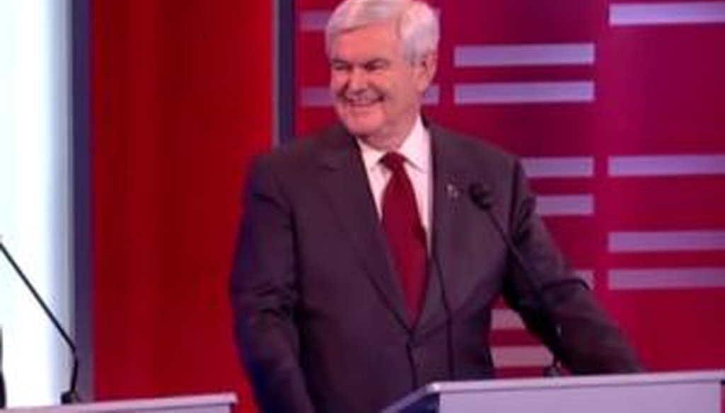 Newt Gingrich said school janitors in New York City make twice what teachers do. We checked his comment.