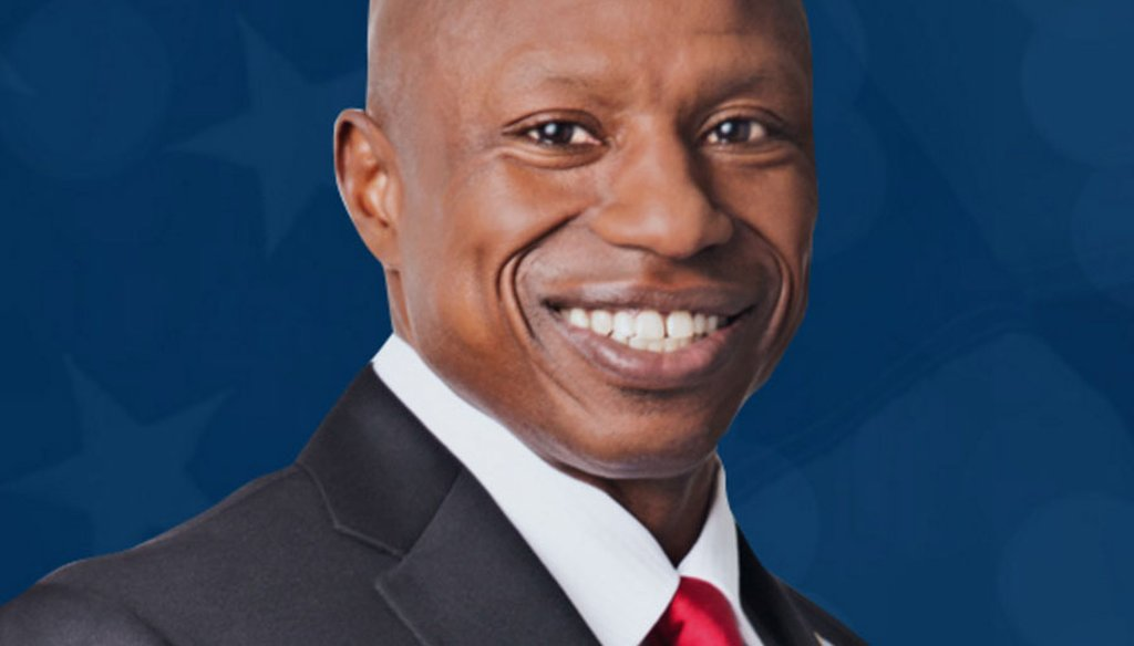 Colorado Republican U.S. Senate candidate Darryl Glenn