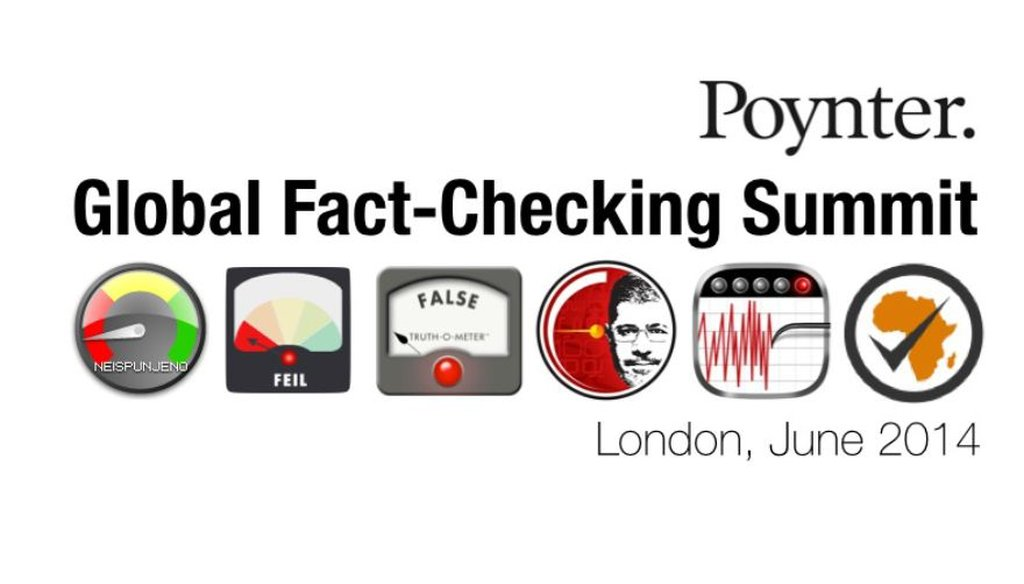 The Poynter Institute hosted the first Global Fact-checking Summit in London.