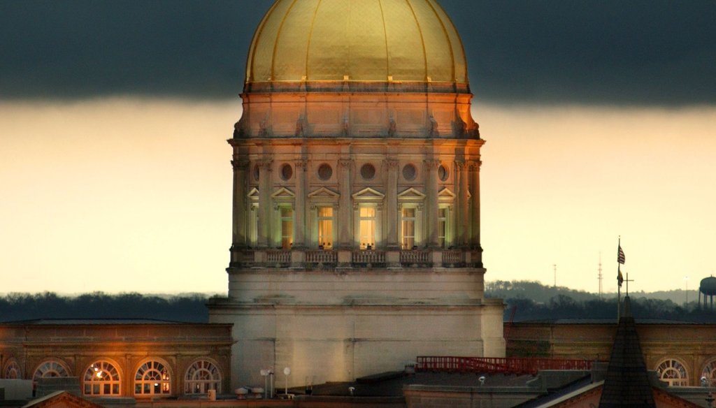 Miss Freedom, take cover. The Truth-O-Meter's pointed at the Gold Dome this legislative session.
