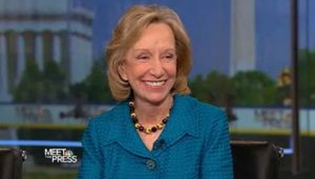 On the May 8, 2011, Meet the Press, historian Doris Kearns Goodwin said that no U.S. troops died in combat under President Dwight Eisenhower.