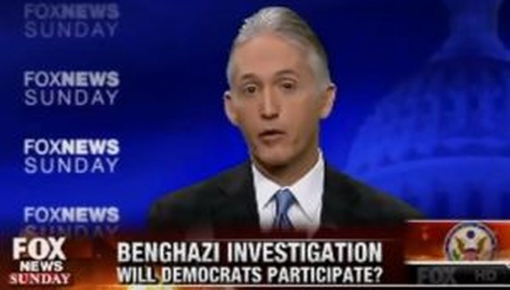 """Rep. Trey Gowdy, R-S.C., discussed the new Benghazi committee he'll be heading during an appearance on """"Fox News Sunday."""""""