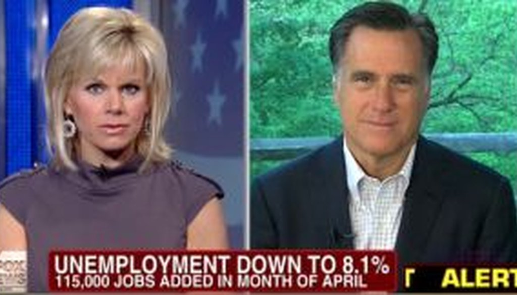 "Mitt Romney said on ""Fox and Friends"" that it's ""normal"" during a recovery to create 500,000 jobs per month. But that's way overstated."