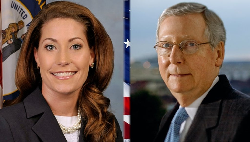 Alison Lundergan Grimes and Mitch McConnell are scheduled to debate Oct. 13, 2014, on Kentucky Educational Television.