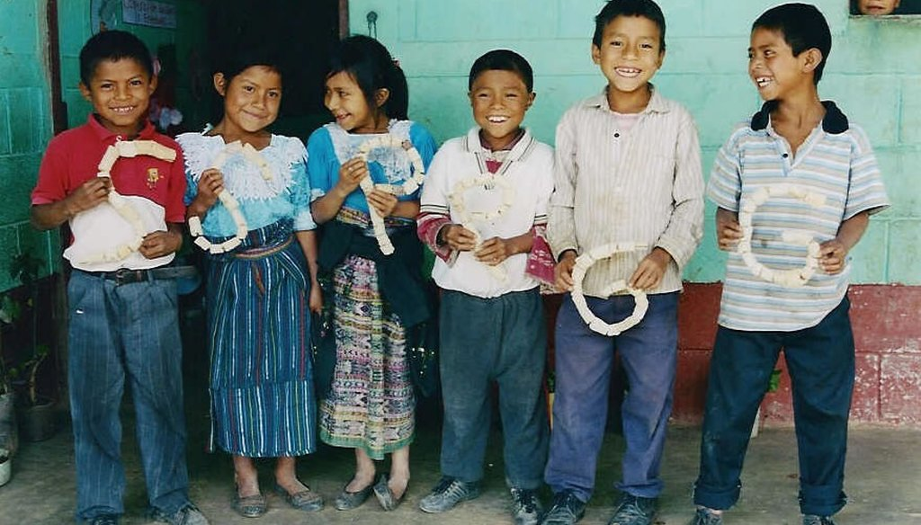 Children at a rural school in Guatemala. (USAID)