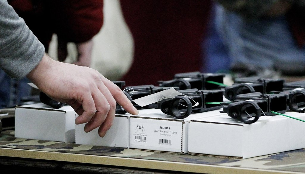 Americans have often been polled on whether background checks should be done for gun sales made at gun shows. (Milwaukee Journal Sentinel)