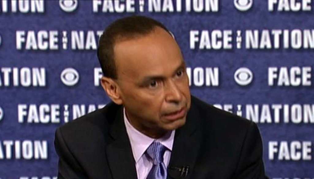 "Rep. Luis Gutierrez, D-Ill., discussed budget priorities for immigration and border protection during an appearance on CBS' ""Face the Nation."" We checked his numbers."