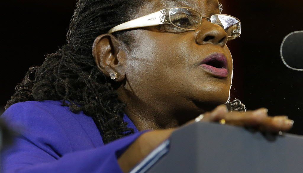 U.S. Rep. Gwen Moore, D-Milwaukee, called out Senate Majority Leader Mitch McConnell, R-Ky., on Twitter.