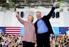 Fact-checking Hillary Clinton's running mate, Virginia Sen. Tim Kaine