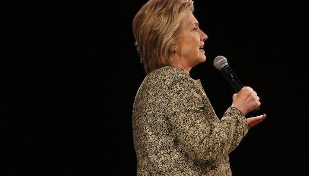Hillary Clinton's Senate record has been attacked during her 2016 presidential bid. (Tampa Bay Times)