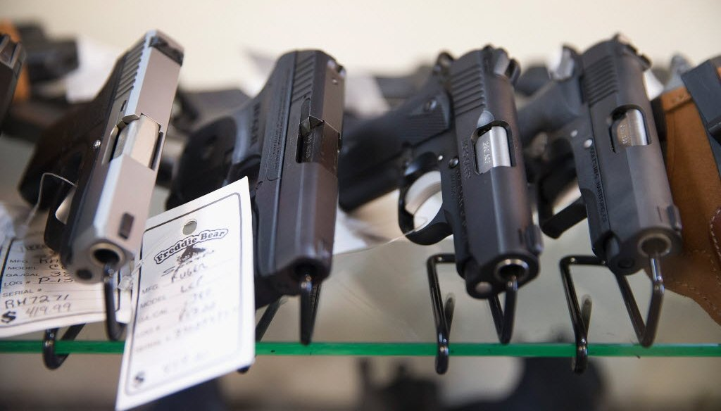 The Wisconsin Legislature is considering a bill to scrap the state's 48-hour waiting period for buying a handgun. (Getty Images photo)