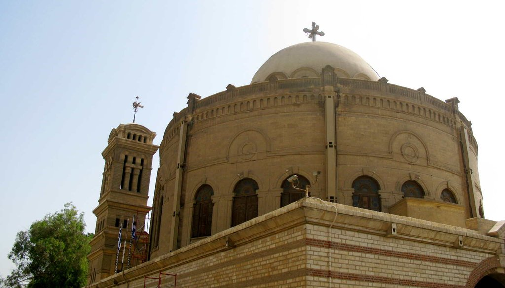 Saint Virgin Mary's Coptic Orthodox Church in Cairo, Egypt, dates back to the 7th century. Churches are not allowed in Saudi Arabia. (via Flickr Creative Commons)