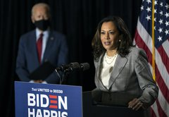 Fact-checking attacks against Kamala Harris, Joe Biden's running mate