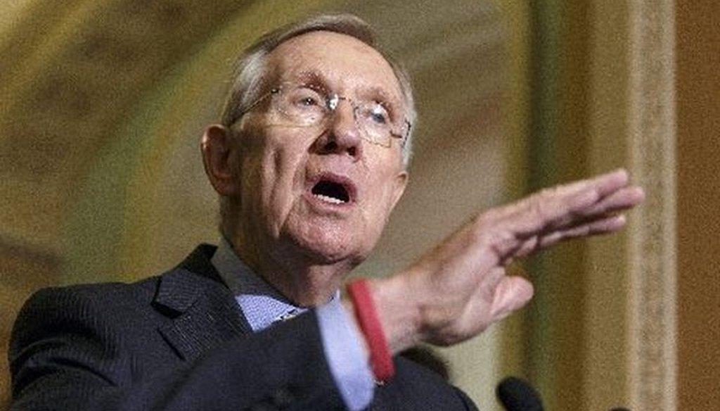 Is Senate Majority Leader Harry Reid, D-Nev., the reason House bills are dying in the Senate?