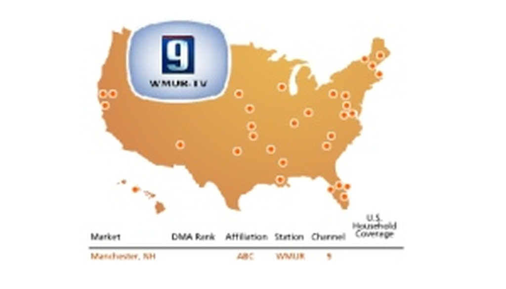 The PolitiFact partnership includes Hearst stations such as WMUR-TV in Manchester, N.H.
