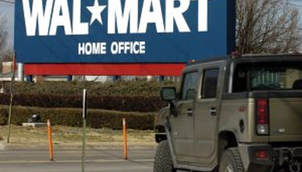 The Walmart home office in Bentonville, Ark. (AP photo)