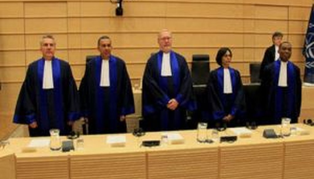 Five new judges of the International Criminal Court were sworn in on March 9, 2012. (ICC photo)
