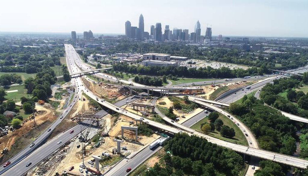 The tolls are expected to open by the end of this year. Photo by John Simmons