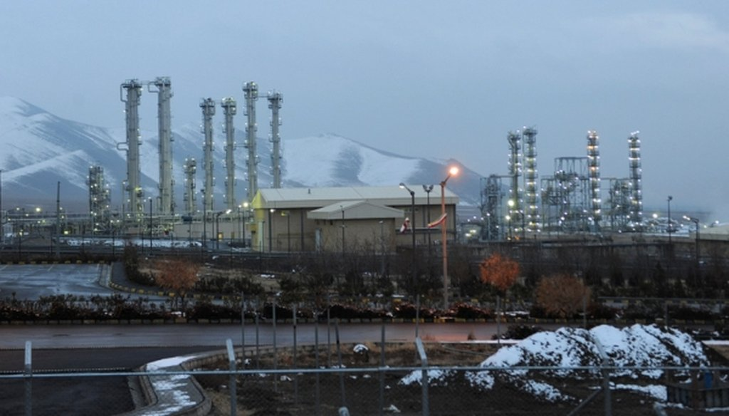Iran's heavy-water nuclear facility near Arak, in a 2011 file photo. (AP photo)