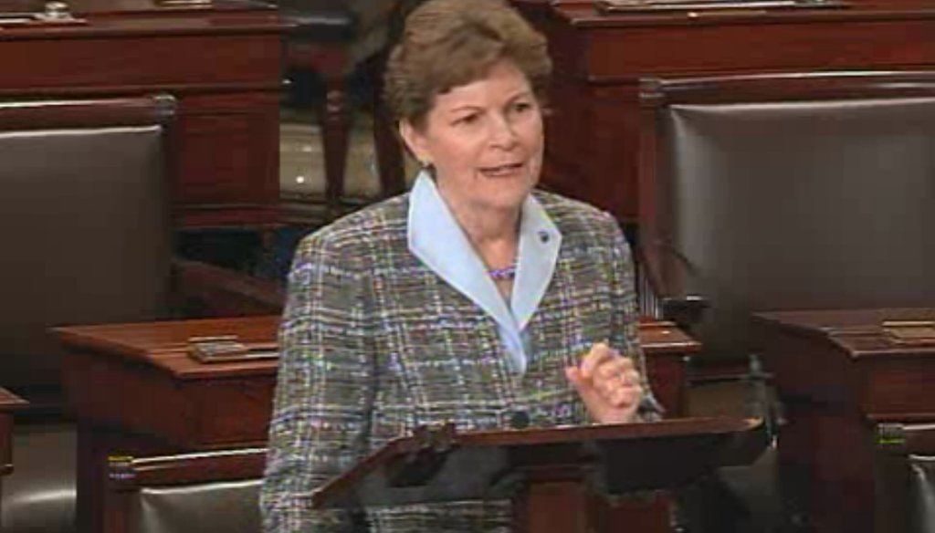 Jeanne Shaheen addressed the Senate on the effects of the government shutdown on New Hampshire small businesses.
