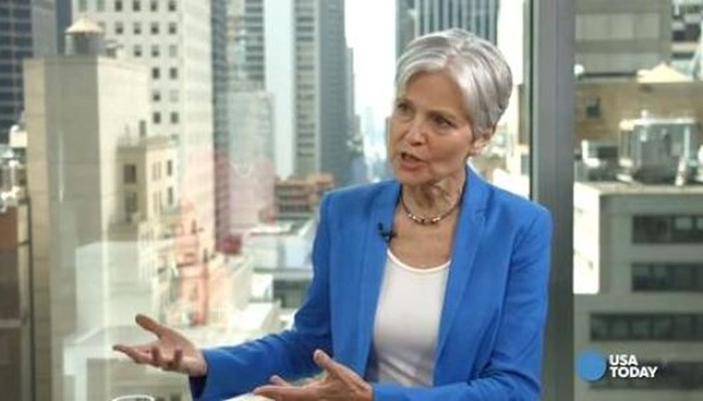 Jill Stein, the Green Party presidential nominee in 2016, is spearheading an effort to force presidential election recounts in Wisconsin and other states. (USA Today)