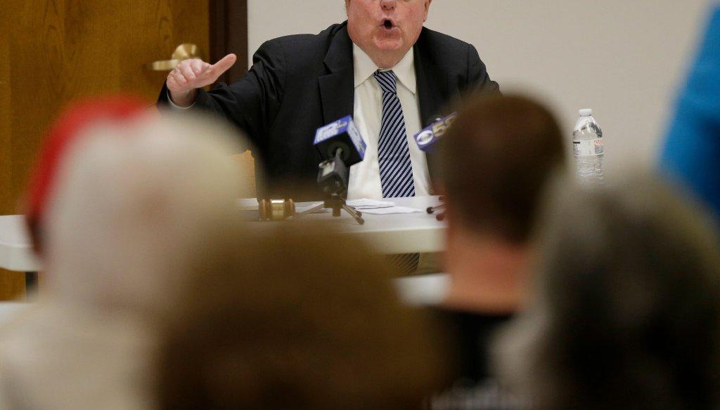 U.S. Rep. Jim Sensenbrenner, a suburban Milwaukee Republican, has long been known for holding public town hall meetings. (Mike De Sisti/Milwaukee Journal Sentinel)