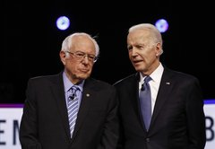 How Joe Biden and Bernie Sanders compare on their long voting records