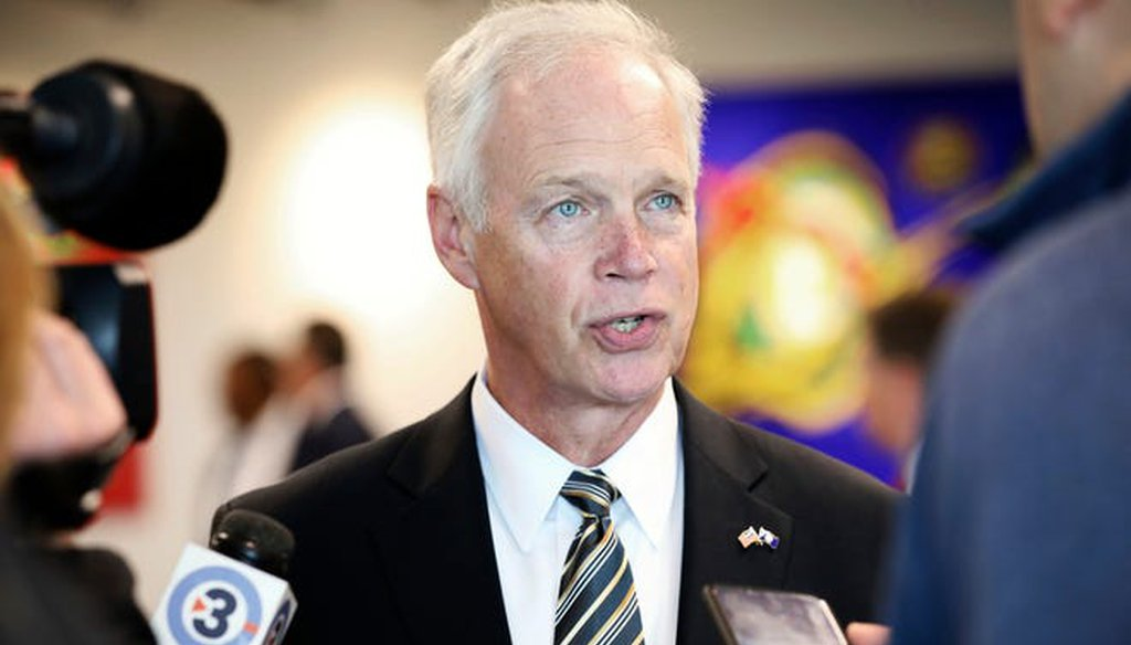 Ron Johnson. File photo