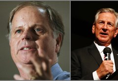 In the Alabama Senate race, the political football is football itself