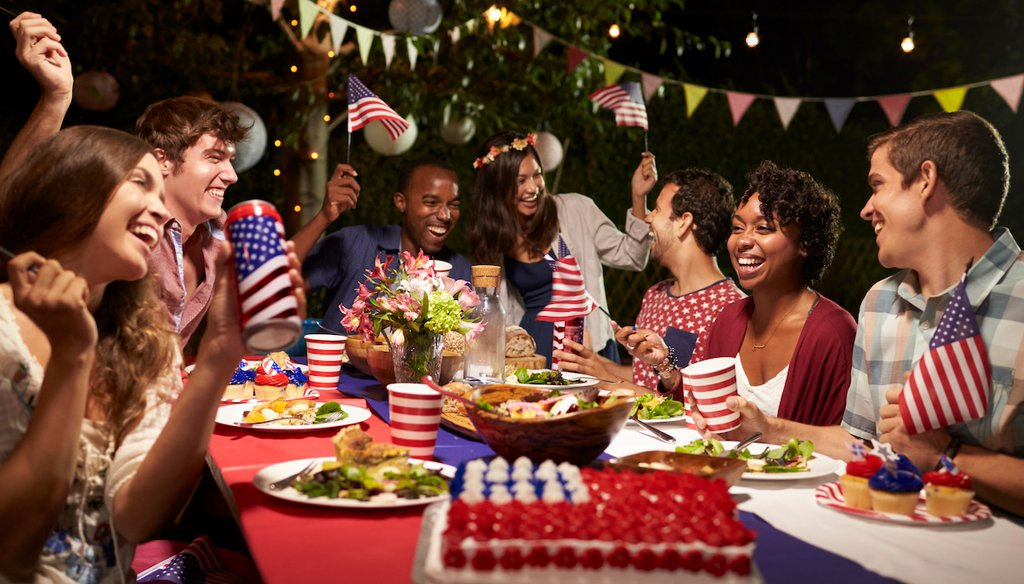 The CDC says fully vaccinated people can freely mix, without masks, on July 4. (Shutterstock)