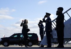 Kamala Harris didn't break protocol, only past practice, in not returning military salutes