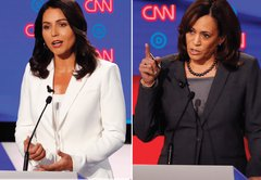 Were Tulsi Gabbard's attacks on Kamala Harris' record as a California prosecutor on target?