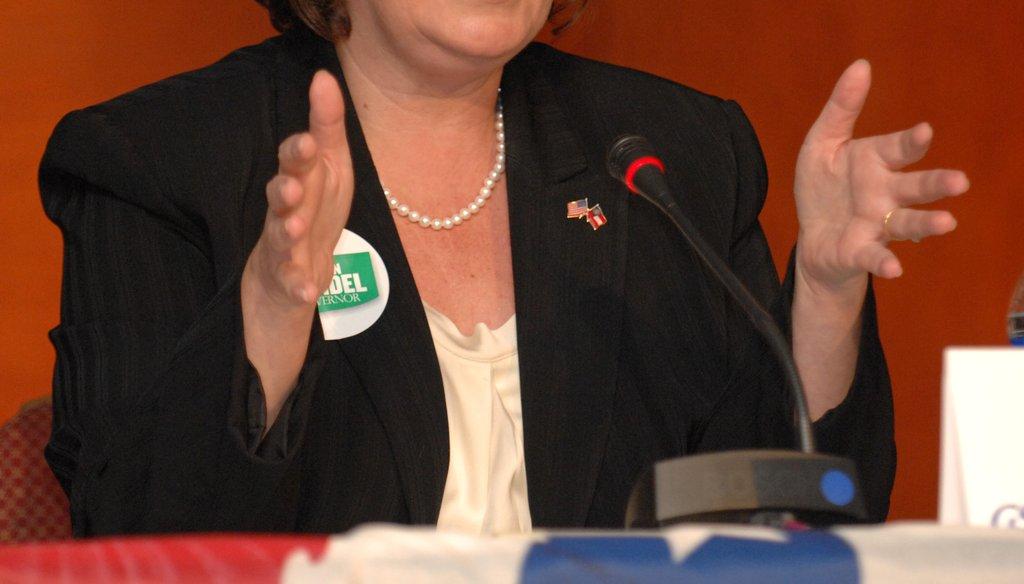 Republican gubernatorial candidate Karen Handel