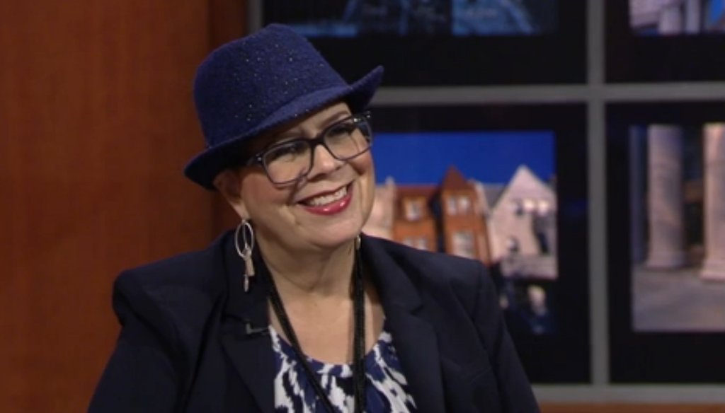 Chicago Teachers Union President Karen Lewis discusses Illinois' new state school funding formula in an appearance on WTTW's Chicago Tonight on Sept. 5, 2017