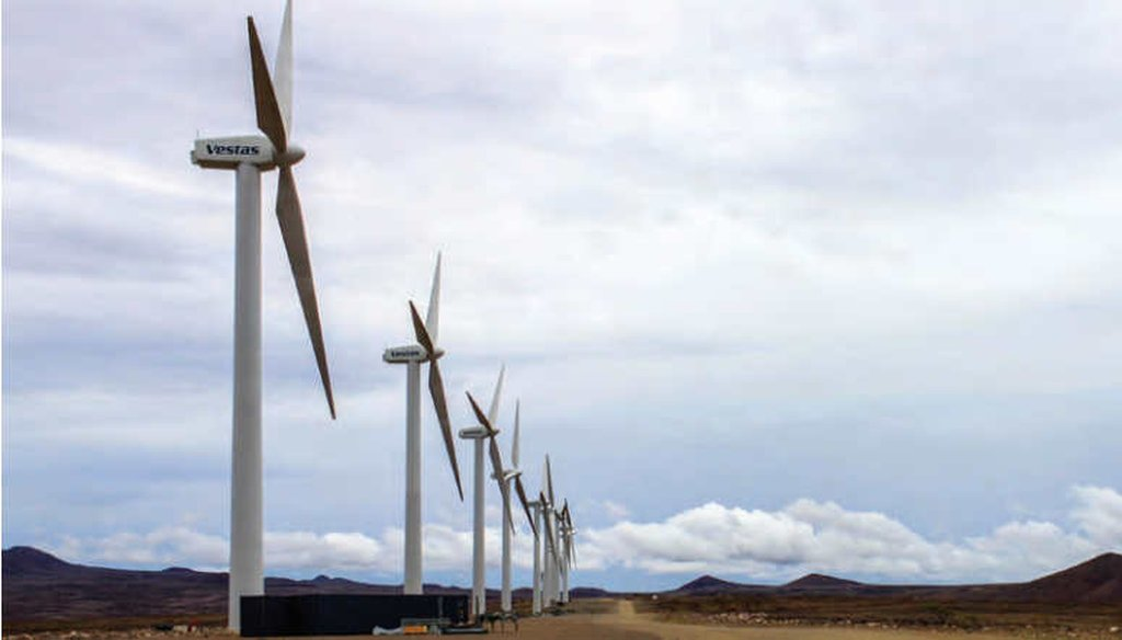 The Lake Turkana Wind Power Project in Kenya. (USAID)