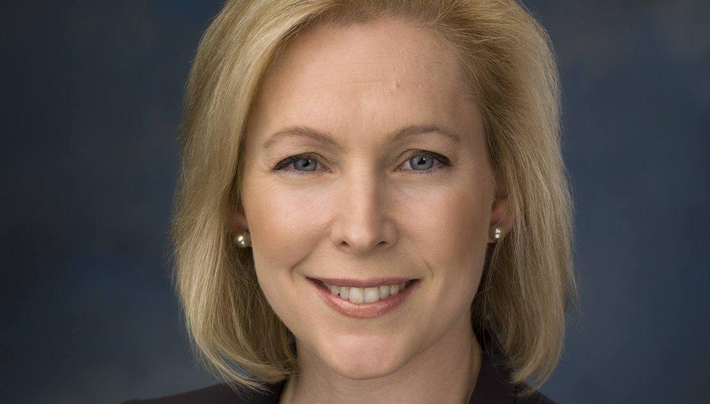 Sen. Kirsten E. Gillibrand, D-NY