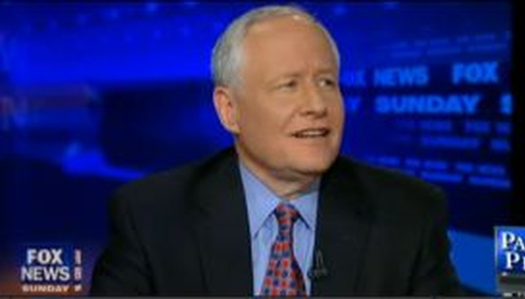 Bill Kristol, the editor of the Weekly Standard, said on Fox News Sunday that John McCain won 40 percent of the Republican vote. We checked to see if he was correct.